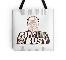 George Costanza - Annoyed All The Time Tote Bag
