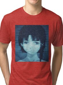 Lain 8bit Tri-blend T-Shirt