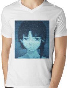 Lain 8bit Mens V-Neck T-Shirt