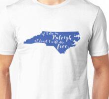 Wagon Wheel NC in Duke Blue Unisex T-Shirt