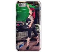Garage Babe iPhone Case/Skin