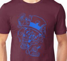 Top Hat Blue Sugar Unisex T-Shirt