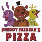 Freddy Fazbear's Pizza Employee by Carrie Wilbraham
