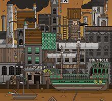 Dockyard by David Wildish