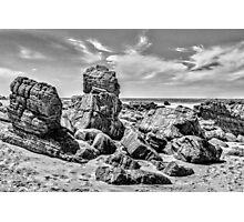 Big Rocks at Praia Malhada Jericoacoara Brazil Photographic Print