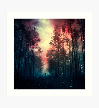 Magical Forest II Art Print