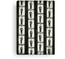 Chaplins Contacts Canvas Print