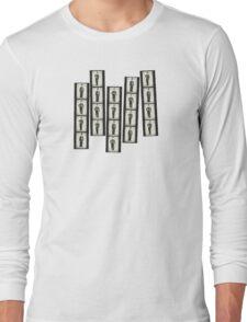 Chaplins Contacts Long Sleeve T-Shirt