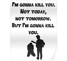 The Walking Dead Rick Season 8 Negan Poster