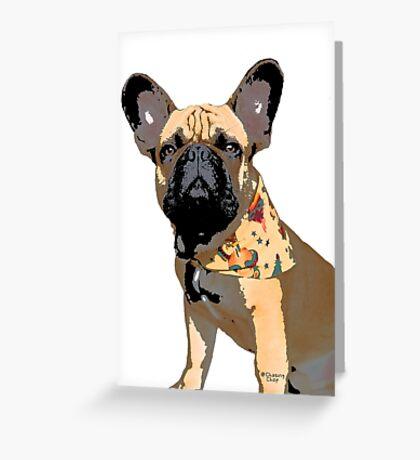 Chop tattoo Greeting Card