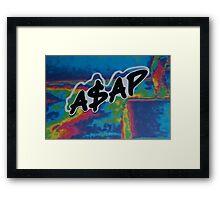 A$AP  Framed Print