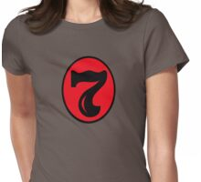 Old number 7 Womens Fitted T-Shirt