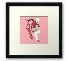 Shulk Vector Framed Print