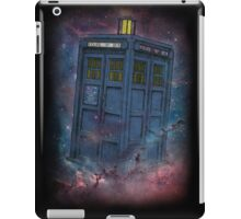 Tardis  and Space iPad Case/Skin
