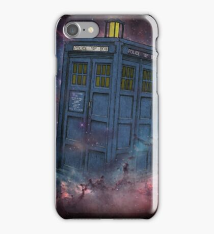 Tardis  and Space iPhone Case/Skin