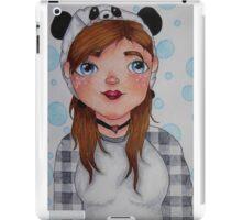 Meee, Panda hat girl iPad Case/Skin