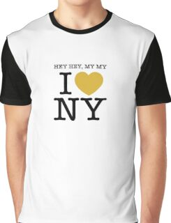 hey hey, my my I (Heart) Neil Young Graphic T-Shirt