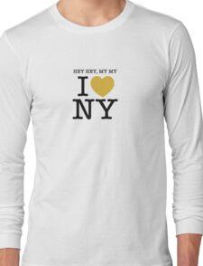 hey hey, my my I (Heart) Neil Young Long Sleeve T-Shirt