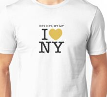 hey hey, my my I (Heart) Neil Young Unisex T-Shirt