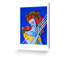 Siren's Harp Greeting Card