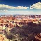 Cape Royal Overlook Grand Canyon by Roupen  Baker