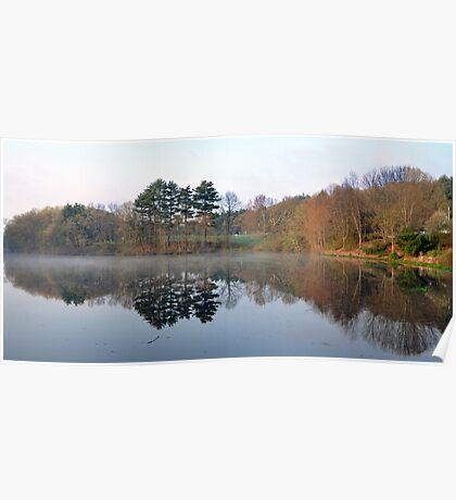 River Bend Pond  Poster