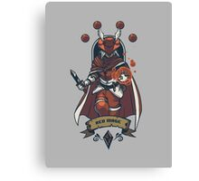 Red Mage Class Canvas Print