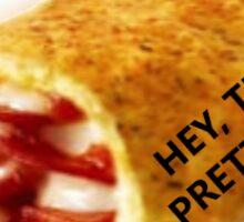 Pizza snack sticker Sticker