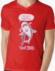Tony Shark Mens V-Neck T-Shirt