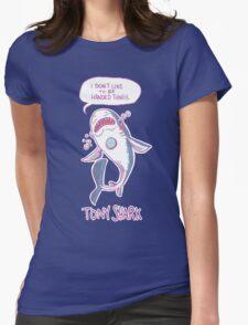 Tony Shark Womens Fitted T-Shirt