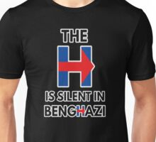 The H Is Silent In Benghazi Unisex T-Shirt