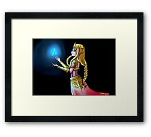 Hyrule Warriors Zelda Framed Print