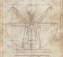 Da Vinci's Real Screw Invention by HenryWine