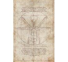 Da Vinci's Real Screw Invention Photographic Print