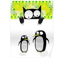 Paper Penguins  Poster