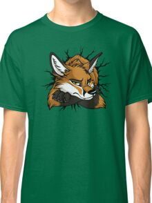 STUCK - Red Fox / Fuchs (bright backgrounds) Classic T-Shirt