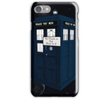 The Doctor is Out Back in 5 iPhone Case/Skin