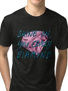 Shine On You Crazy Diamond Tri-blend T-Shirt