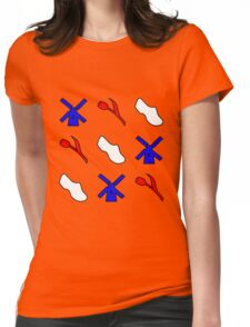 Typical Dutch Icons Womens Fitted T-Shirt