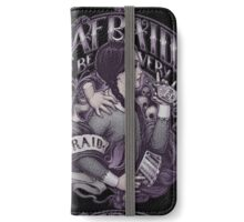 Be afraid iPhone Wallet/Case/Skin