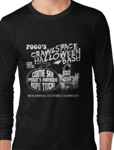 John Wayne Gacy - Pogo's Crawlspace Halloween Bash Long Sleeve T-Shirt