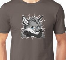 STUCK - Grey Fox / Fuchs (dark backgrounds) Unisex T-Shirt