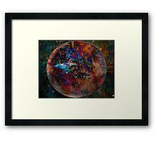 Planet Nebula Framed Print