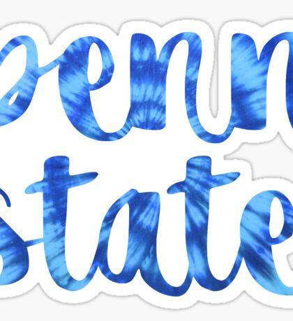 Tie Dye Penn State  Sticker