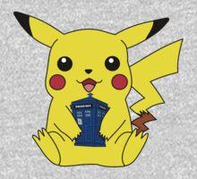 Pikachu Doctor Who Tardis Kids Clothes