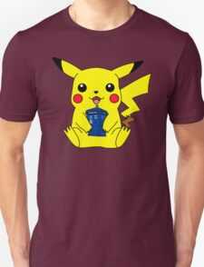 Pikachu Doctor Who Tardis T-Shirt