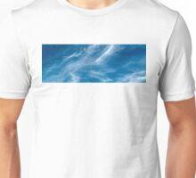 Blue Sky White Cloud.  Unisex T-Shirt