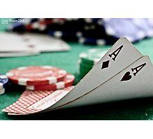 Pocket aces Photographic Print