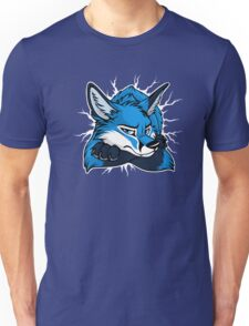 STUCK - Blue Fox / Fuchs (dark backgrounds) Unisex T-Shirt