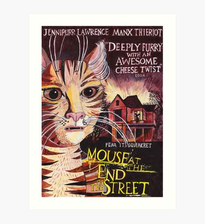 Mouse at the End of the Street Art Print